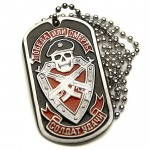 Russomilitare: Soldier of Fortune Dog Tag Russian Spetsnaz Skull