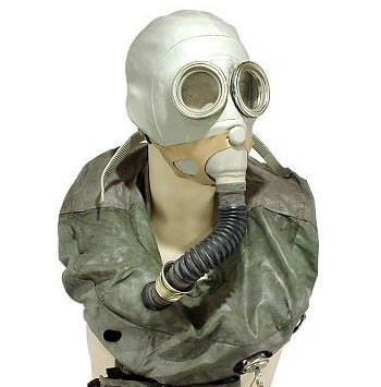 IP-5 Soviet Military Gas Mask