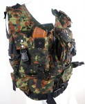 Russomilitare: Russian Tactical Vest Flecktarn Camo Holds 8 AK Mags SALE!