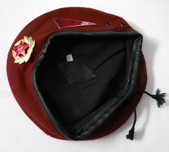 MVD Special Forces Maroon Beret
