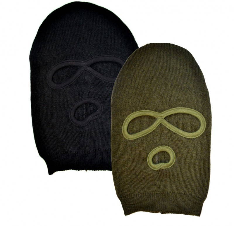 Winter Knitted Balaklava 3-hole