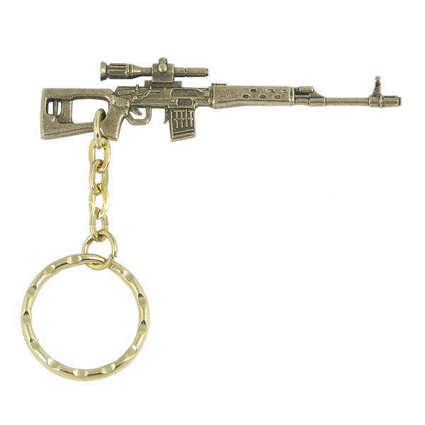 svd rifle keyring