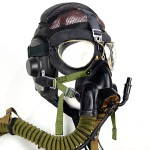 Pilot Flight Leather Helmet