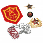 USSR Hammer and Sickle Badge Gift Set