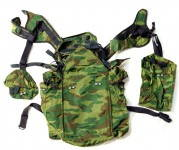 Russomilitare: Russian RD-54 Airborne VDV Assault Rucksack Backpack FLORA Camo