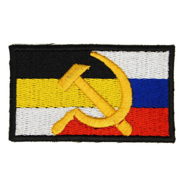 Russian Soviet Imperial Russia Flag Embroidered Sleeve Patch