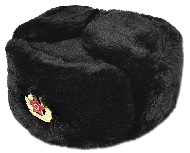 Russian Traditional Soviet Winter Ushanka Fur Hat