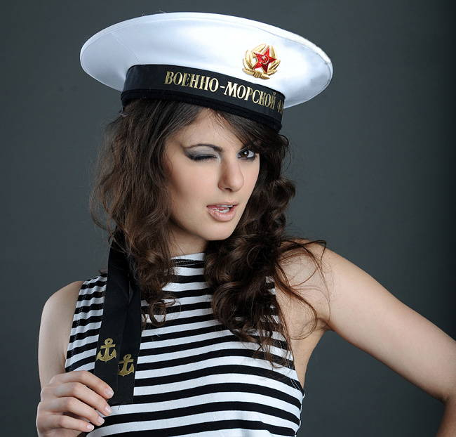 russian sailor hat