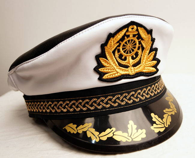 Russian Captain Sailors Hat Peak Visor Cap Captains