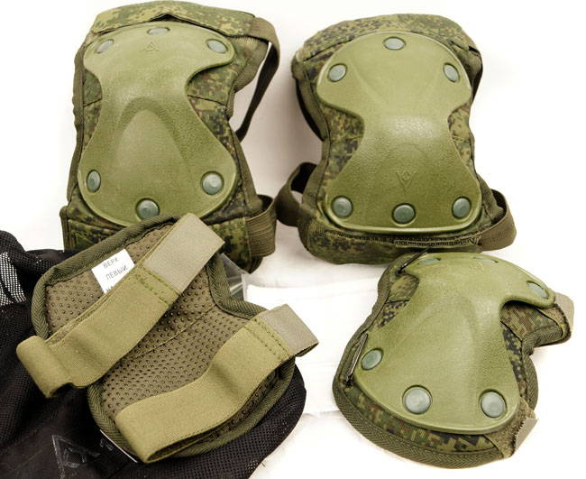 New Original Ratnik Knee and Elbow Protection Pads Set 6B51