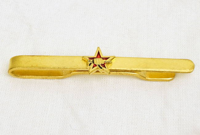 Russian Military Tie Clip Pin Badge Army Mvd Fsb Spetsnaz Ak-47