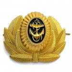 Russian Navy Warrant Officer Hat Badge Anchor