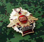 Russian Uniform Award Chest Badge Special Forces Omon