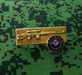 Russomilitare: Russian Uniform Award Chest Badge SVD (Dragunov sniper rifle) Sniper