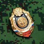 Russomilitare: Russian Uniform Award Chest Badge airborne VDV