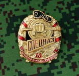 Distintivo russo Spetsnaz Special Forces Valor And Skill