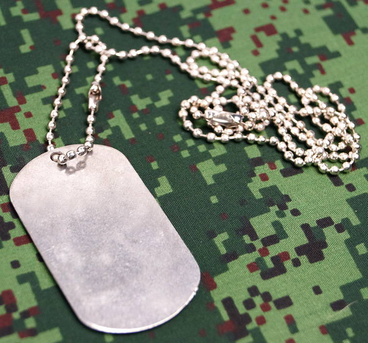 Military Dog Tag motorized rifle troops AK-47