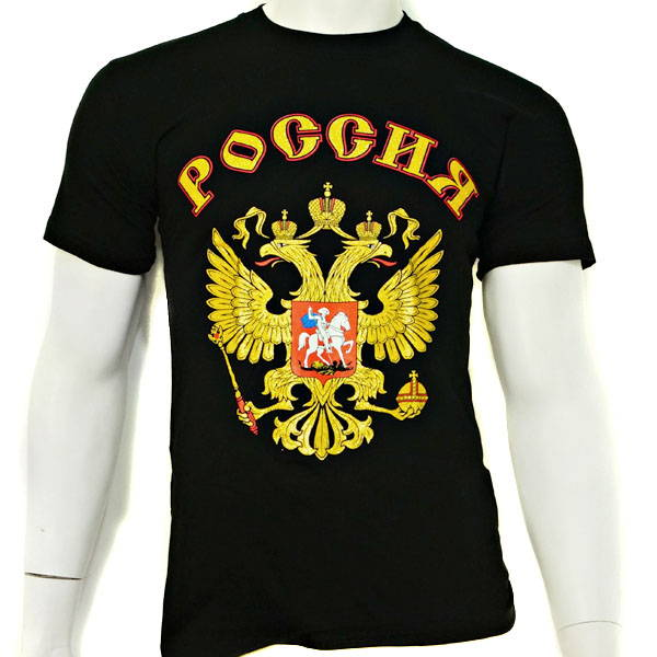 Coat of Arms Eagle Russian T-Shirt