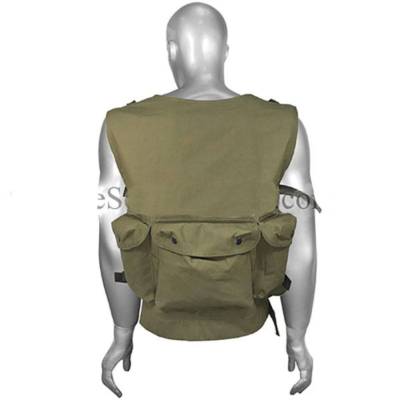 Russian Tactical Vest - Brown Sand Khaki - 8 AK Mags