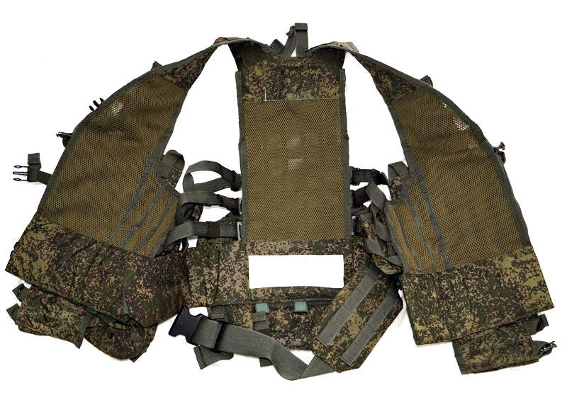 Russian 6SH117 Chest Rig Tactical Vest Ratnik - Used Excellent Codition