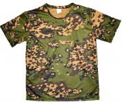 Russomilitare: Russian Military T-Shirt Moisture Wicking Partizan Camo