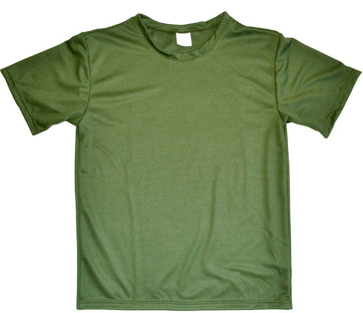 Russian Military T-Shirt Moisture Wicking Olive OD