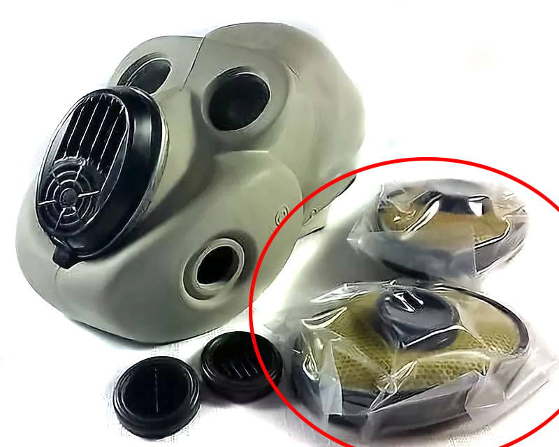 Set Replacement Filters PBF Gas Mask