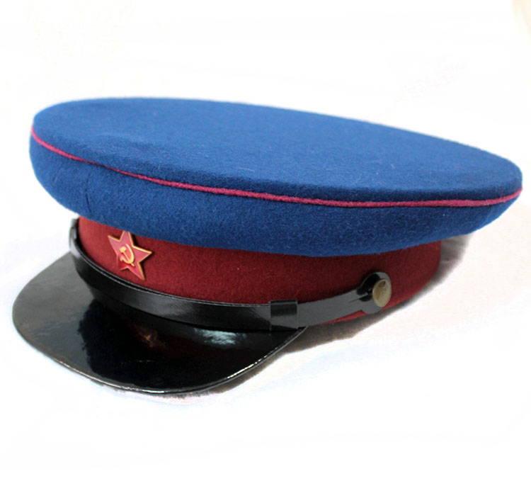 Russomilitare com - Soviet Russian WW2 NKVD Officers Uniform Visor