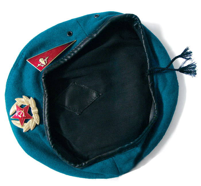 russian airborne uniform beret