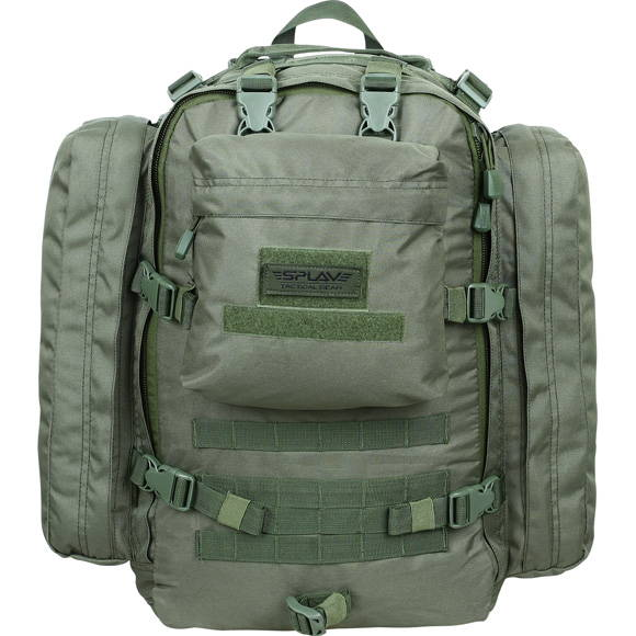 olive military backpack