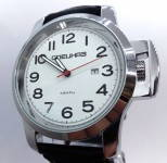 Russomilitare: Russian army military wristwatch SPETSNAZ ATTACK white