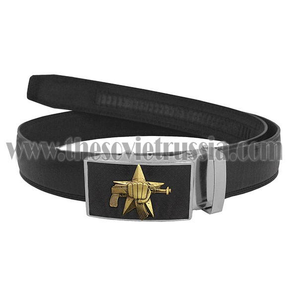 Spetsnaz Leather Belt with Buckle