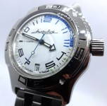 Russomilitare: Russian wrist watch for diving Vostok amphibian automatic 31 jewels 200m #0