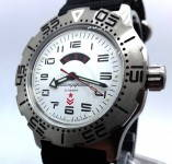Russomilitare: Russian wrist watch 12/24 hours Vostok automatic K-35 32 jewels 100 m