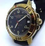 Russomilitare: Russian Army Vostok Wrist Watch Watertight Mechanical 17 jewels