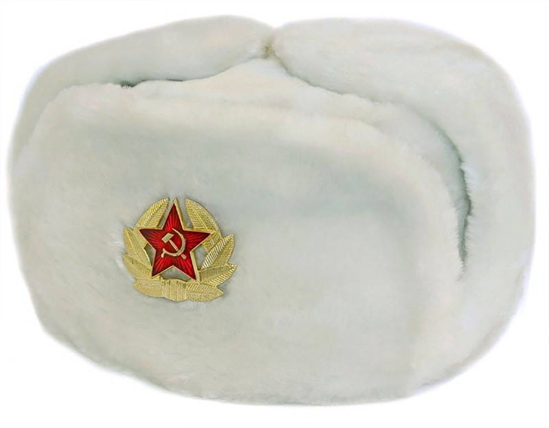 white russian hat
