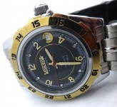Russomilitare: Russian wrist watch Vostok PARTNER automatic mechanical 31 jewels #1
