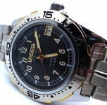 Russomilitare: Russian wrist watch Vostok PARTNER automatic mechanical 31 jewels #4