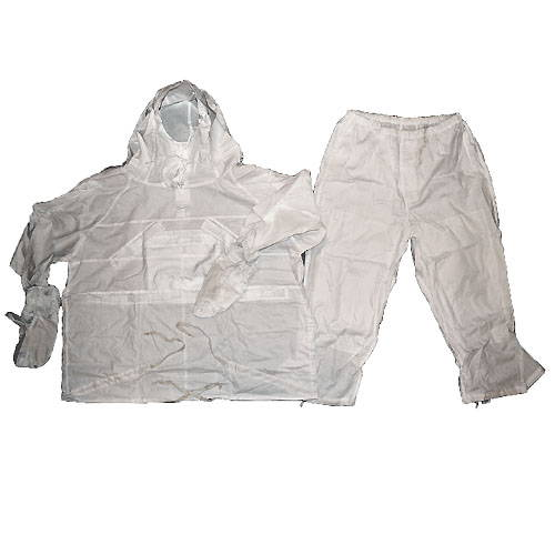 Military White Snow Camo Kmz Suit
