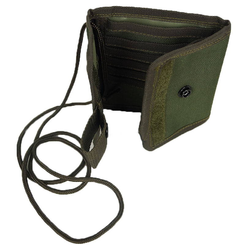 Russian Chest Bag For Documents Olive