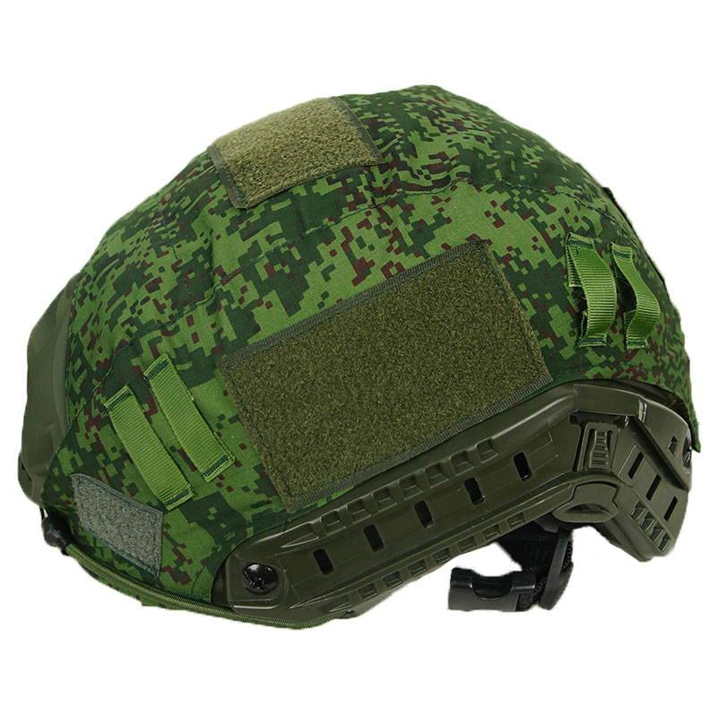 Fast Tactical Helmet Cover Digital Flora EMP